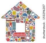 all for the house | Shutterstock .eps vector #153296207