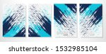 abstract background with grunge ... | Shutterstock .eps vector #1532985104
