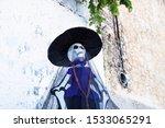 Catrina Puppet At A Sunny Old...