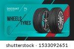 tire shop discount coupon.... | Shutterstock .eps vector #1533092651