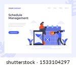 time schedule management flat...