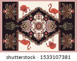 colorful ornamental vector...   Shutterstock .eps vector #1533107381