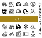 Set Of Car Icons. Such As...