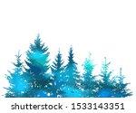 the christmas tree silhouette...   Shutterstock .eps vector #1533143351