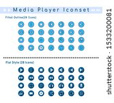 two sets of media player badge...