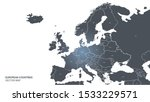 europe map. world map. detailed ...   Shutterstock .eps vector #1533229571