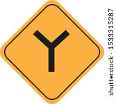 road traffic sign vector eps10   Shutterstock .eps vector #1533315287