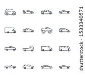 simple car set icon template...   Shutterstock .eps vector #1533340571