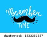 movember time concept. vector... | Shutterstock .eps vector #1533351887