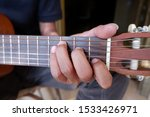 Small photo of tutorial image of C major chord from guitar