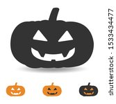 halloween pumpkin illustration... | Shutterstock .eps vector #1533434477