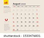 design concept layout august...   Shutterstock .eps vector #1533476831