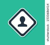 blue road traffic sign.... | Shutterstock .eps vector #1533686414