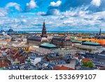 Aerial View Of Copenhagen With...