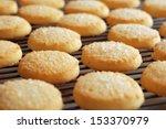 Freshly Baked Sugar Cookies On...