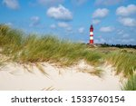 View To The Amrum Lighthouse...