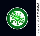 label or logo anti bacteria for ... | Shutterstock .eps vector #1533828947