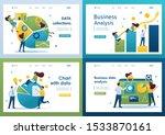 set flat 2d concepts business...   Shutterstock .eps vector #1533870161