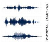 seismograph chart. seismic... | Shutterstock .eps vector #1533942431