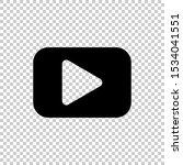 play video icon design vector... | Shutterstock .eps vector #1534041551