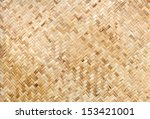Texture Of Bamboo Wall...