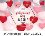 valentine's day love and... | Shutterstock .eps vector #1534221521