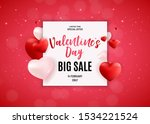 valentine's day love and... | Shutterstock .eps vector #1534221524