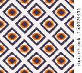 aztec stylish seamless pattern... | Shutterstock .eps vector #153424415