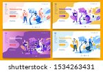 template for landing page ... | Shutterstock .eps vector #1534263431