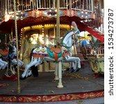 Macro Photo Carousel Horse....