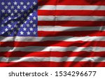 texture of the flag of the... | Shutterstock . vector #1534296677
