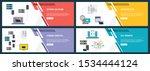 vector set of vertical web... | Shutterstock .eps vector #1534444124