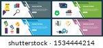 vector set of vertical web... | Shutterstock .eps vector #1534444214