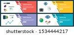 vector set of vertical web... | Shutterstock .eps vector #1534444217