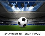 abstract sports background  ... | Shutterstock . vector #153444929