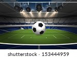 abstract sports background  ... | Shutterstock . vector #153444959