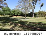 Small photo of Japanese War Cemetery, Cowra, New South Wales Australia October 15 2019. Many Japanese prisoners of war were killed in a prisoner breakout during 2nd world war. They believed 'Death before Dishonor'