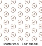 seamless vector pattern in... | Shutterstock .eps vector #1534506581
