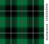 Tartan Plaid Black White Red...