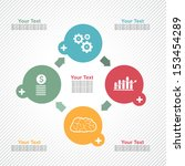 infographics vector  | Shutterstock .eps vector #153454289