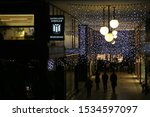 christmas market in merano on... | Shutterstock . vector #1534597097