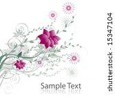 floral background | Shutterstock .eps vector #15347104