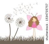 Dandelion Flowers And Miniature ...
