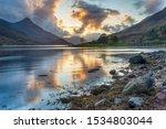 Sunset At Loch Leven Near...