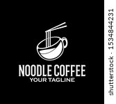 vector logo creative noodle... | Shutterstock .eps vector #1534844231