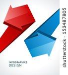 infographics options design... | Shutterstock .eps vector #153487805