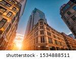 scenic boston downtown... | Shutterstock . vector #1534888511
