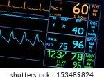 vital signs monitor | Shutterstock . vector #153489824