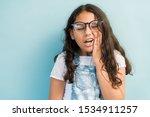 closeup of female child in... | Shutterstock . vector #1534911257