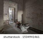 the abandoned ellis island... | Shutterstock . vector #1534941461